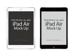 蘋果iPad Air矢量素材