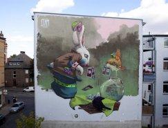 Etam Cru街头壁画艺术欣赏
