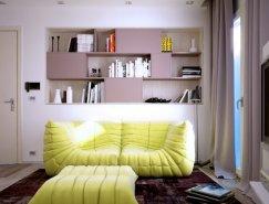 3套小户型公寓设计欣赏