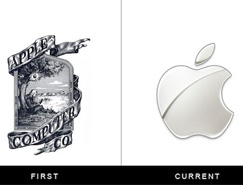 著名品牌Logo的变迁
