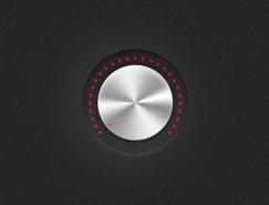 音量旋纽PSD素材