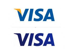 著名国际信用卡组织VISA发布新Logo