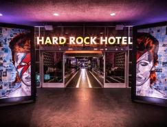 充满摇滚魅力的加州棕榈泉硬石酒店(Ha