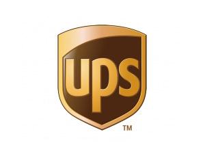 UPS快递矢量标志