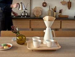 Luca Nichetto + Mjlk:优雅的Sucabaruca咖啡套装