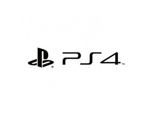 PS4游戏机标志矢量图