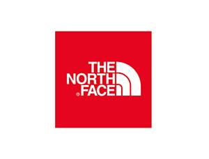 户外运动品牌the north face标志矢量图
