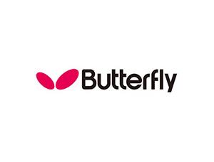 乒乓品牌蝴蝶Butterfly标志矢量图