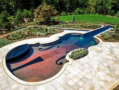 璀璨的魅力小提琴游泳池