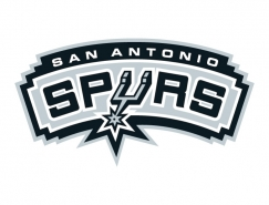 NBA:圣安东尼奥马刺队标志矢量图