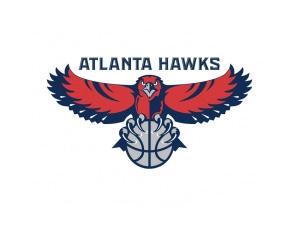 NBA:亚特兰大老鹰队标志矢量图