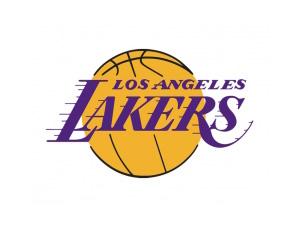 NBA:洛杉矶湖人队标志矢量图