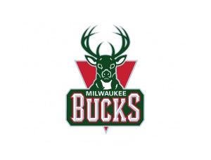 NBA:密尔沃基雄鹿队标志矢量图