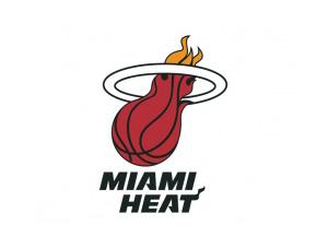 NBA:迈阿密热队标志矢量图