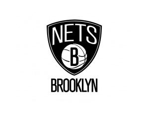 NBA:布鲁克林篮网队标志矢量图