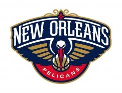 NBA:新奥尔良鹈鹕队标志矢量图