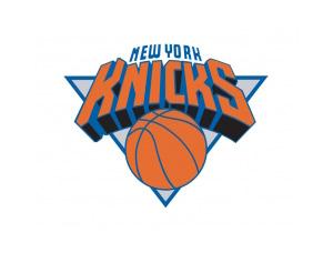 NBA:纽约尼克斯队标志矢量图
