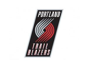 NBA:波特兰开拓者队标志矢量图