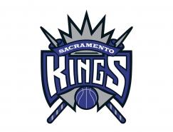 NBA:萨克拉门托国王队标志矢量图