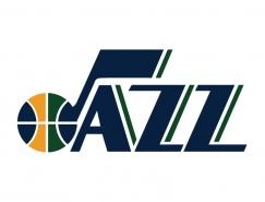 NBA:犹他爵士队标志矢量图