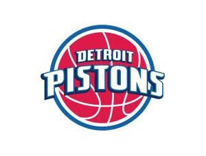 NBA:底特律活塞队标志矢量图