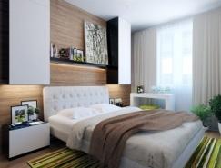 国外精致漂亮的卧室设计