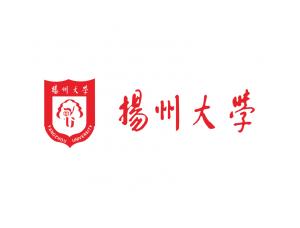 大学校徽系列:扬州大学标志矢量图