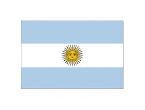 阿根廷国旗矢量图