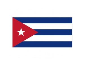 古巴國旗矢量圖