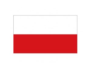 波兰国旗矢量图