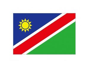 納米比亞國旗矢量圖