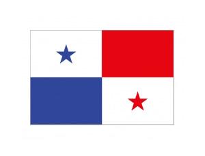 巴拿馬國旗矢量圖