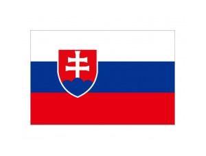 斯洛伐克國旗矢量圖