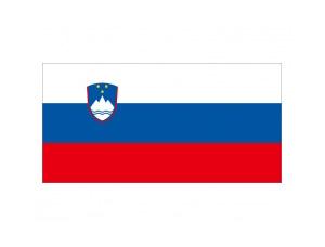 斯洛文尼亞國旗矢量圖