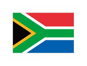 南非國旗矢量圖