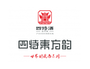 四特酒logo标志矢量图