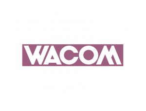 手写板品牌:wacom标志矢量图