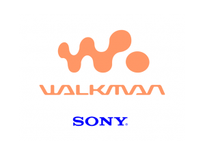 WALKMAN标志矢量图