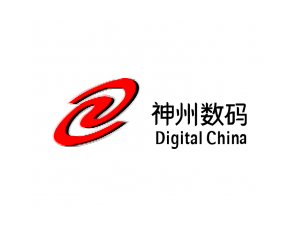 DigitalChina神州数码标志矢量图