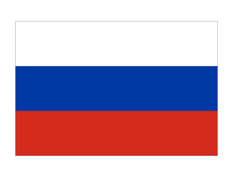 俄罗斯国旗矢量图