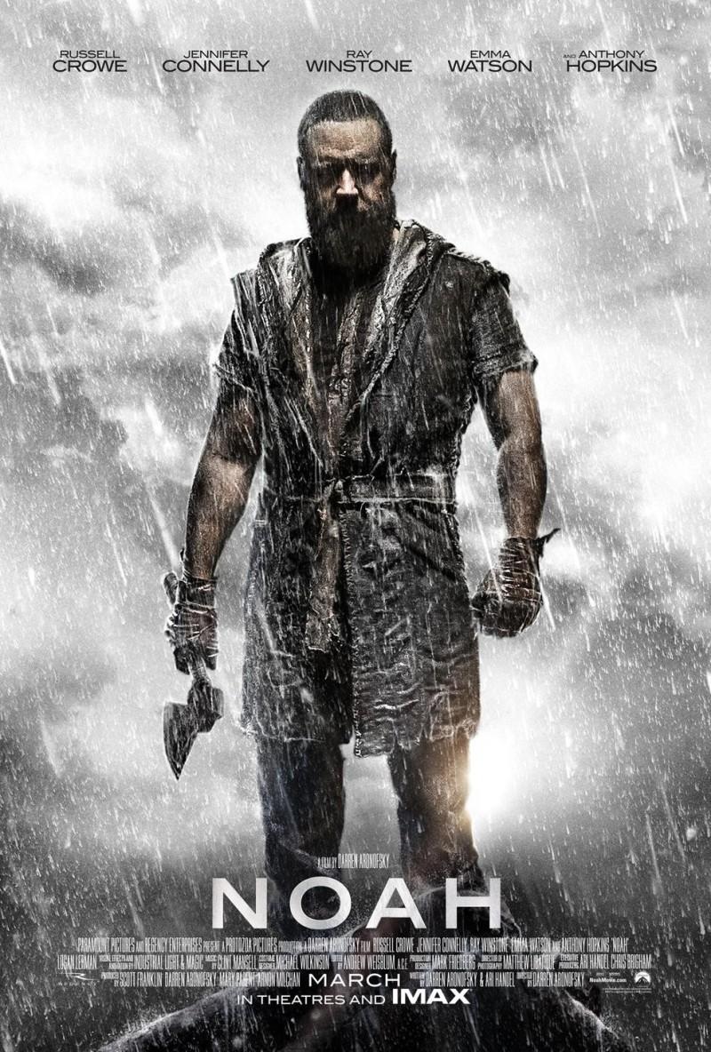 电影海报欣赏 诺亚方舟 创世之旅 Noah