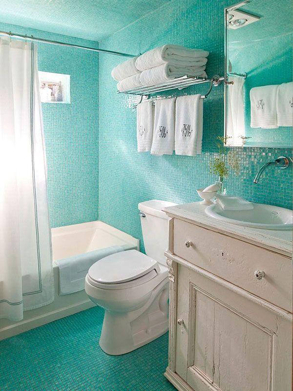 65个漂亮的浴室瓷砖欣赏