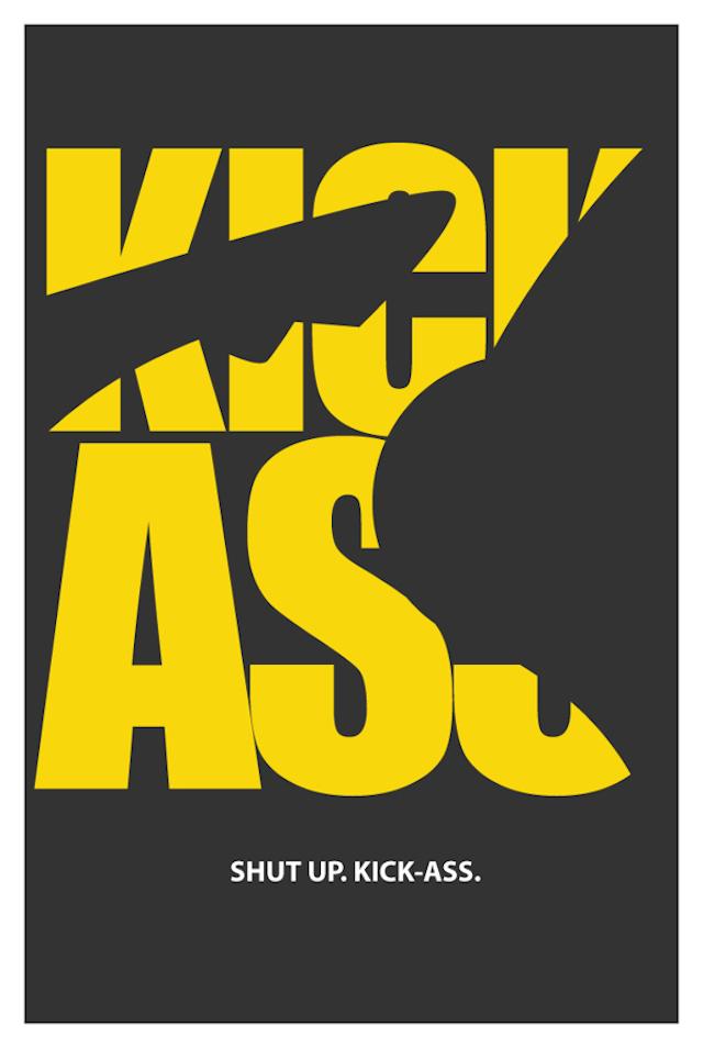 印度艺术家danish ahmed创意文字电影海报欣赏(2)