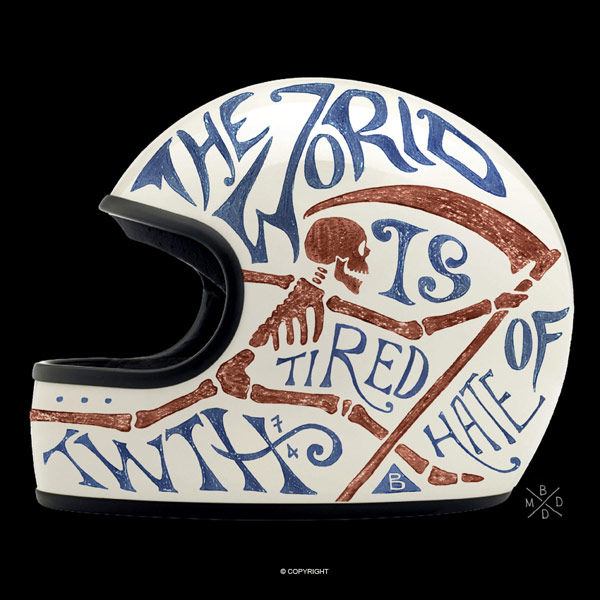 50款创意头盔设计欣赏