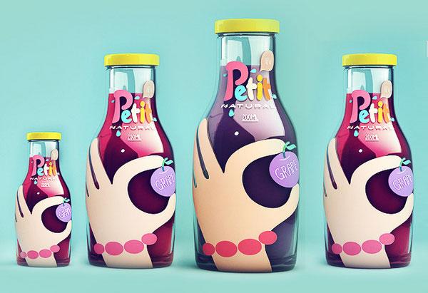 国外创意果汁包装设计