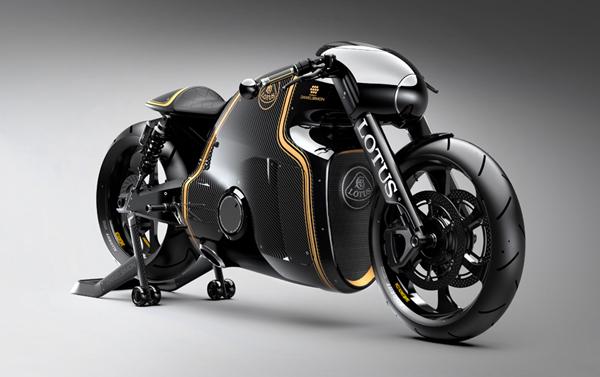 潮流前卫的Lotus C-01摩托车