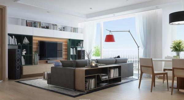 精致的时尚家居装修效果图欣赏 - 设计之家