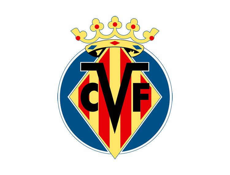 西甲比利亚雷亚尔队徽标志矢量图