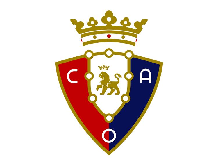 西甲奥萨苏纳队徽标志矢量图