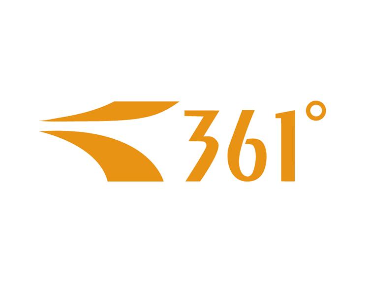 运动品牌361°标志矢量图
